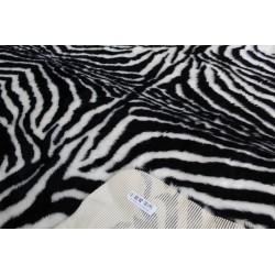 Fellteppich Zebra
